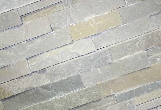 stone panels white quartzite voor minder. Black Bedroom Furniture Sets. Home Design Ideas